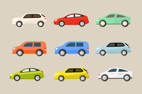 車のイラスト素材 街 建物系イラスト専門サイト Town Illust