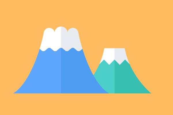 いらすとや 富士山