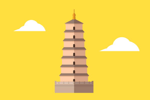大雁塔の画像 p1_4