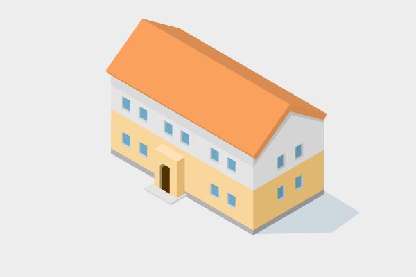 家 街 建物系イラスト専門サイト Town Illust